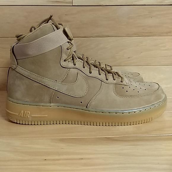 f89659202cd78f Nike Air Force 1 High Wheat Flax 806403-200